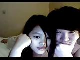 Aziatische webcam koppel