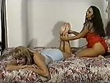 Brunette en Blonde Voetseks