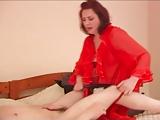 Olga in rood