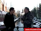 Toeristische man een bezoek aan Amsterdam voor het hebben van seks